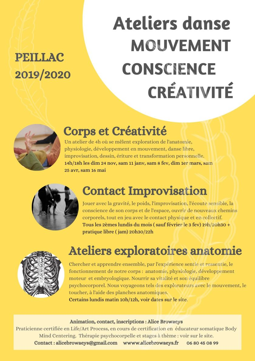 Corps Conscience Créativité