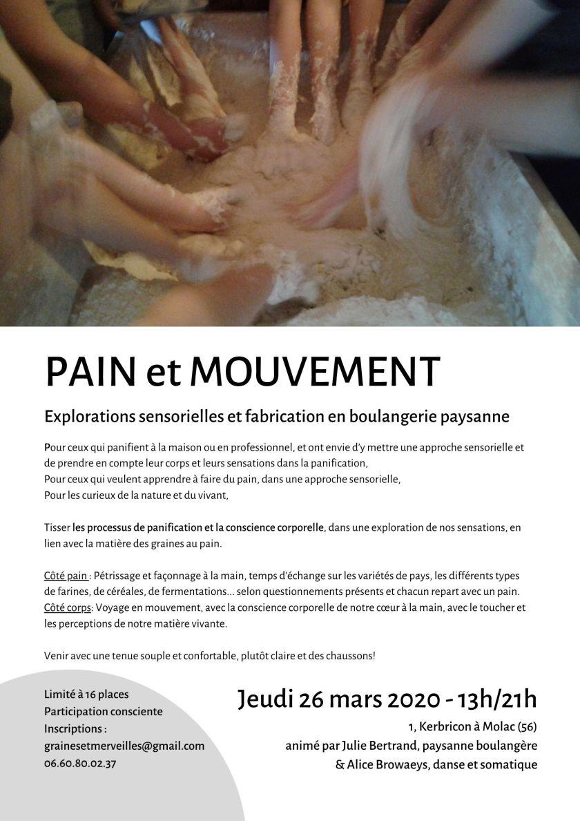 Pain en mouvement